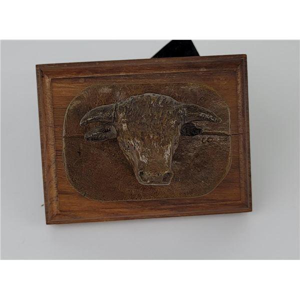 Charles Russell Pedigree Shorthorn Bronze Montana