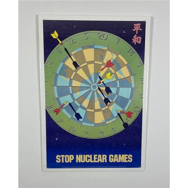 Monte Dolack Nuclear Games Print Missoula Montana