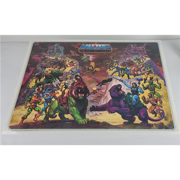 1984 Mattel Masters of the Universe He Man Poster