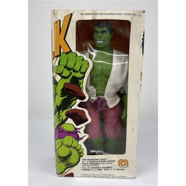 "Mego 12"" Incredible Hulk Figure New in Box"