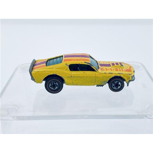 Hot Wheels Mustang Stocker 1974 Redline Toy Car