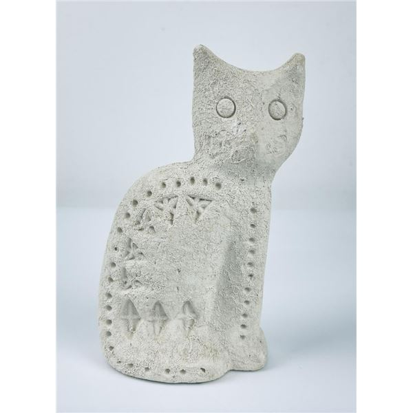 Mid Century Aldo Londi Bitossi for Flavia Cat