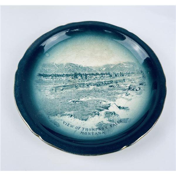 Antique Thompson Falls Montana Plate