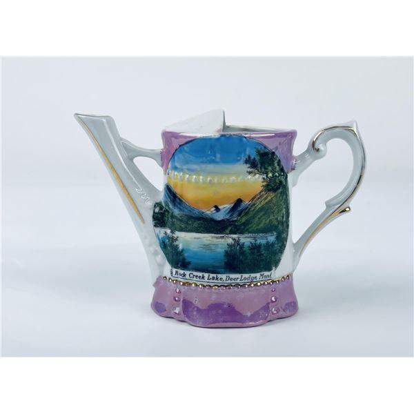 Rock Creek Deer Lodge Montana Porcelain Water Can