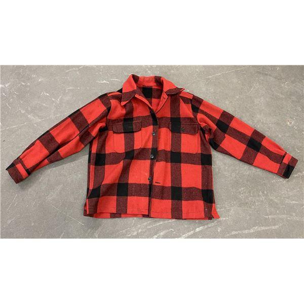 Vintage White Stag Mackinaw Wool Hunting Jacket