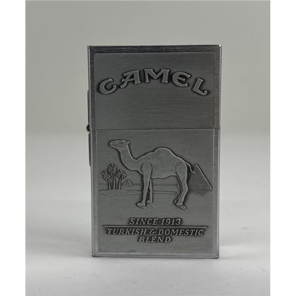 Vintage Camel Cigarettes Advertising Zippo Lighter