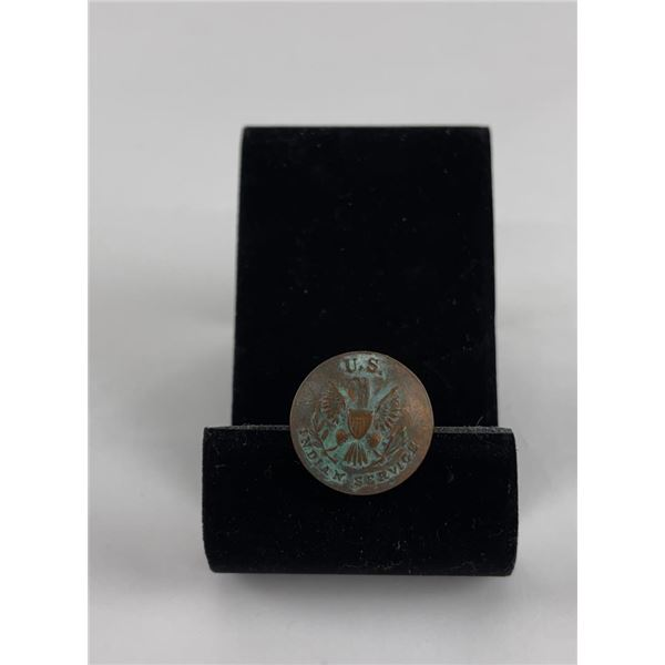 Tiffany and Company US Indian Service Coat Button