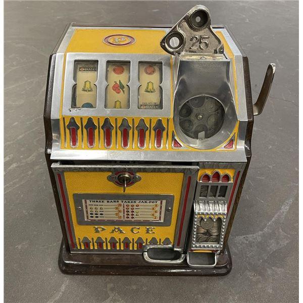 Antique Pace Bantam 25c Quarter Slot Machine