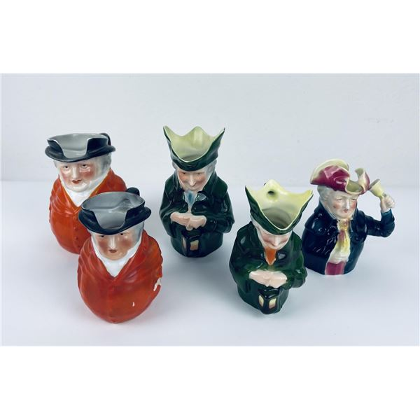 Antique Royal Bayreuth Town Crier Creamers