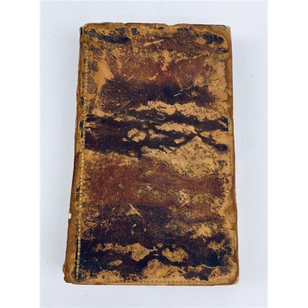 Leather Bound The Alcoran of Mahomet Koran 1824