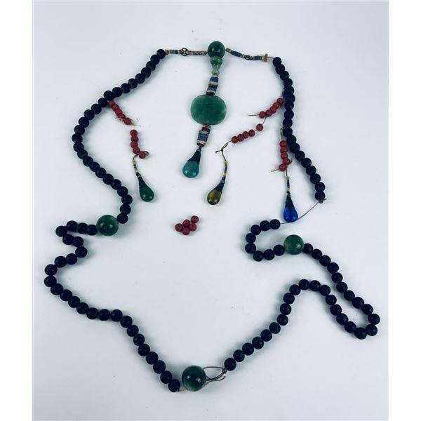Antique Tibetan Prayer Bead Necklace