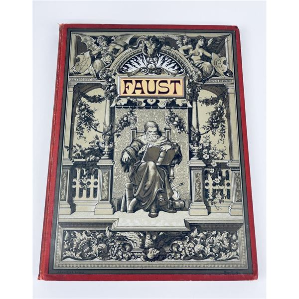 1887 Faust Goethe Illustrated by Alexander Zick