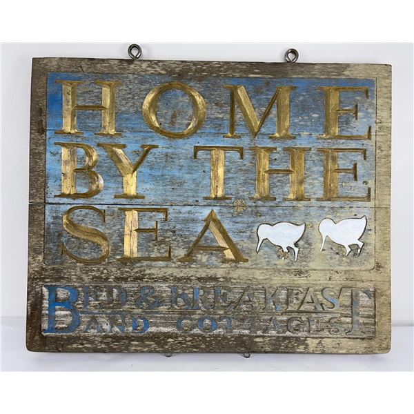 Home by the Sea Oregon Cottages Sign