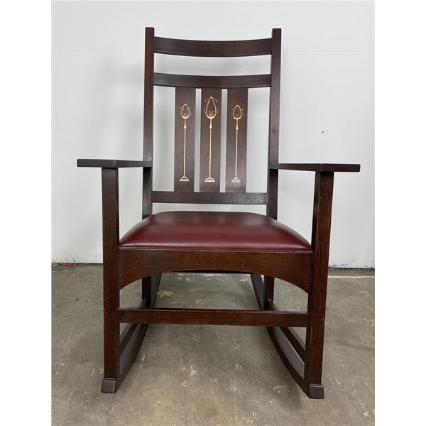 Stickley Harvey Ellis Mission Oak Rocker Chair