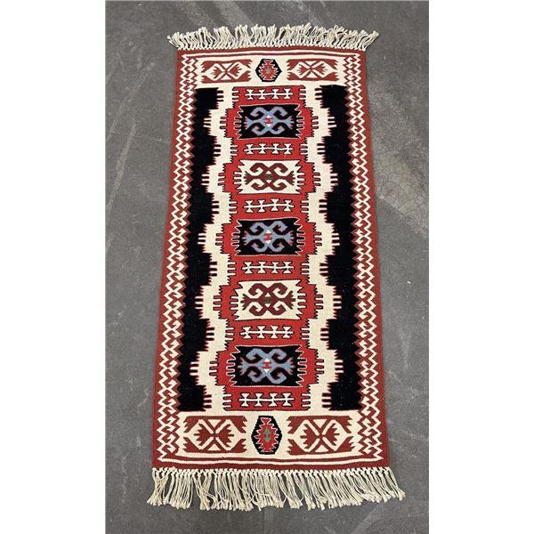 Persian Oriental Caucasian Runner Rug