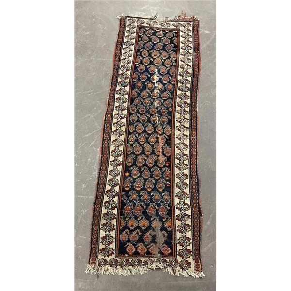 Antique Caucasian Persian Oriental Runner Rug