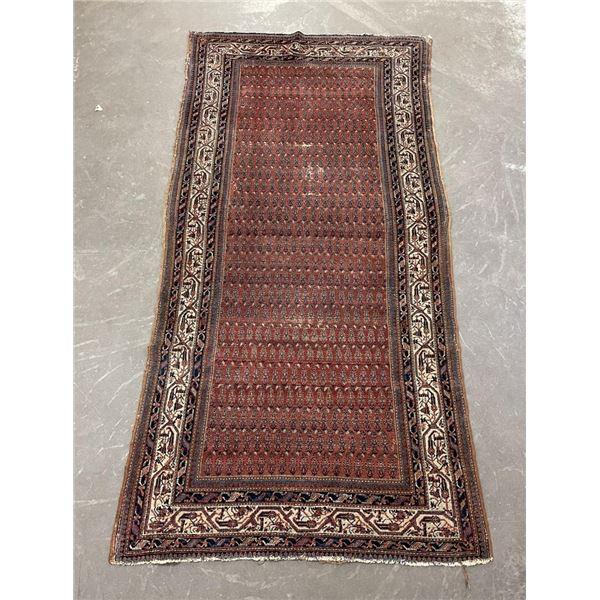 Antique Persian Bokhara Oriental Rug
