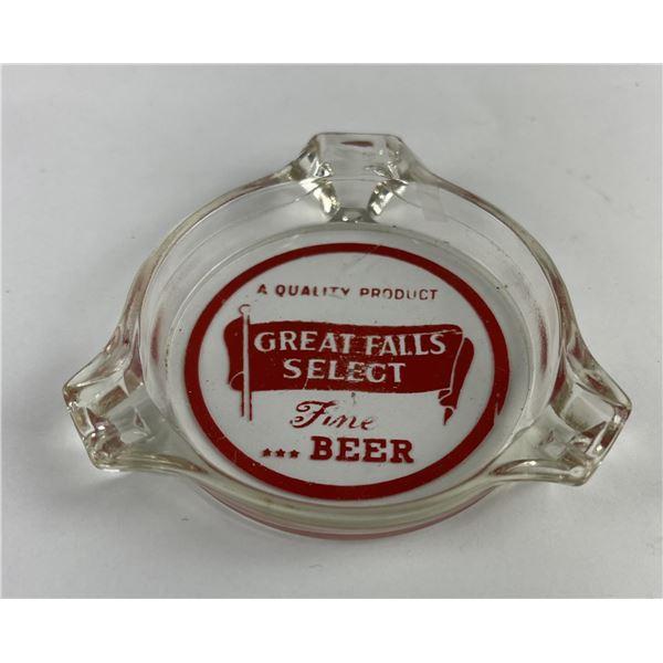 Great Falls Select Montana Beer Ashtray