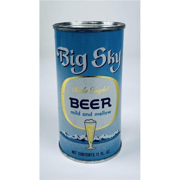 Rare Big Sky Montana Great Falls Beer Can