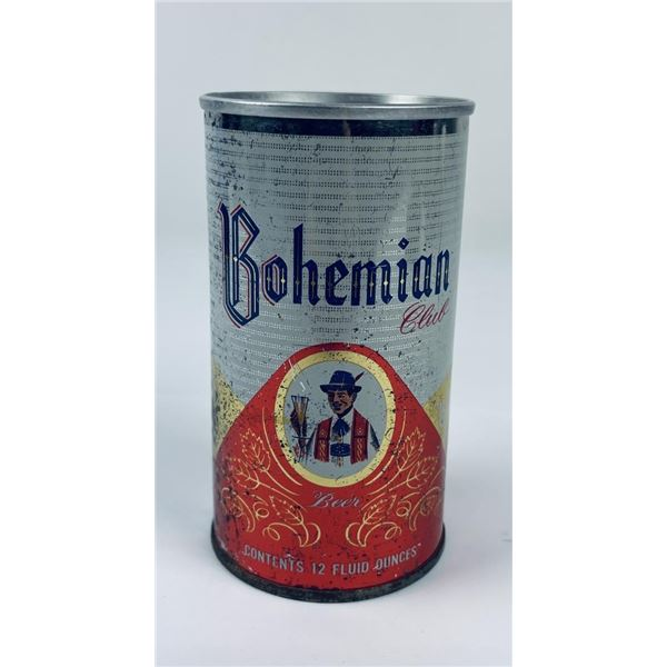 Rare Bohemian Club Great Falls Montana Beer Can