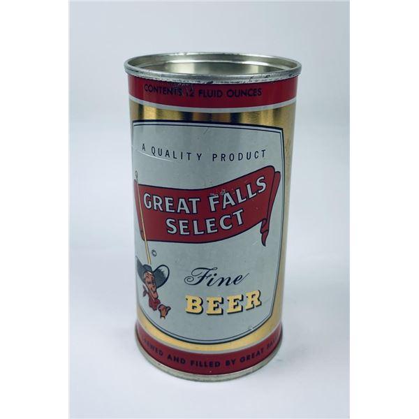 Great Falls Select Montana Beer Can