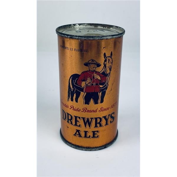 Drewrys Ale Opening Instruction Beer Can
