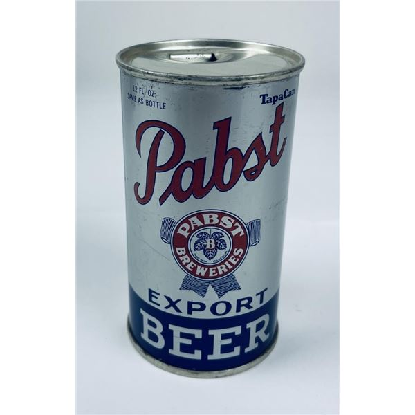 Pabst Export Opening Instruction Beer Can