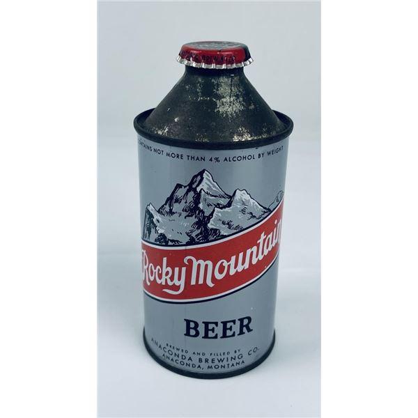 Rocky Mountain Anaconda Montana Cone Top Beer Can