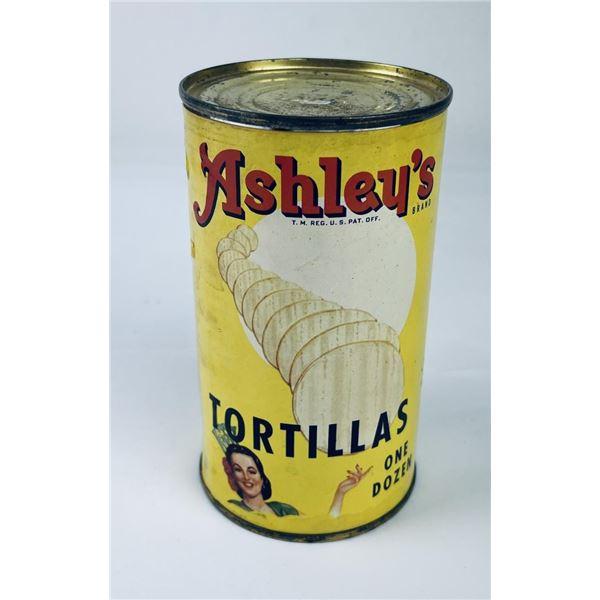 Ashley's Tortillas In a Can El Paso Texas