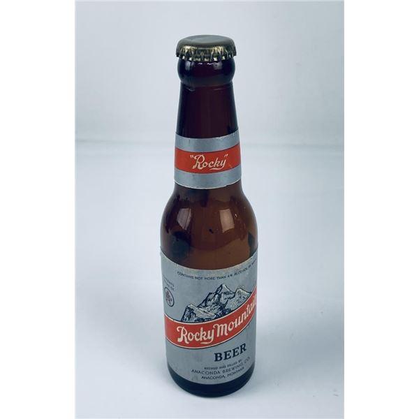 Rocky Mountain Beer Anaconda Montana Nipper Bottle