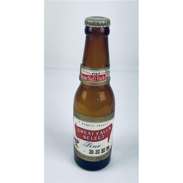 Great Falls Select Montana Nipper Beer Bottle