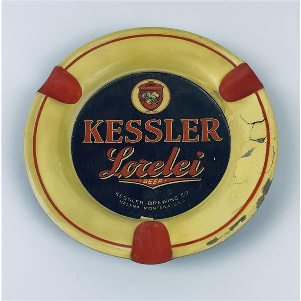 Kessler Beer Helena Montana Ashtray