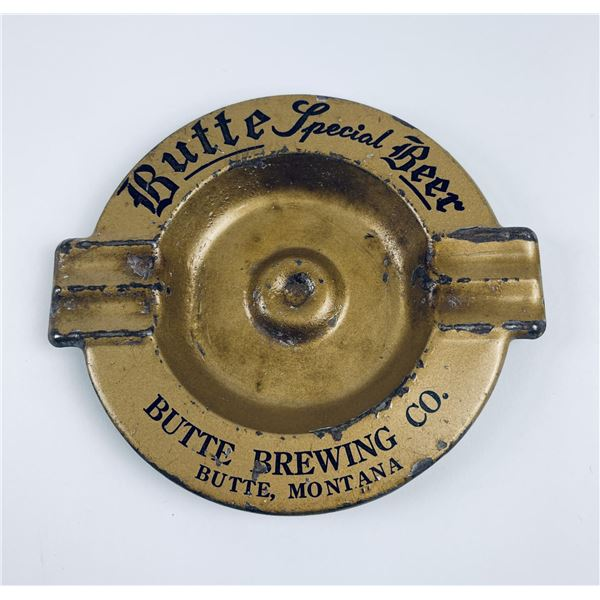 Butte Special Montana Beer Ashtray