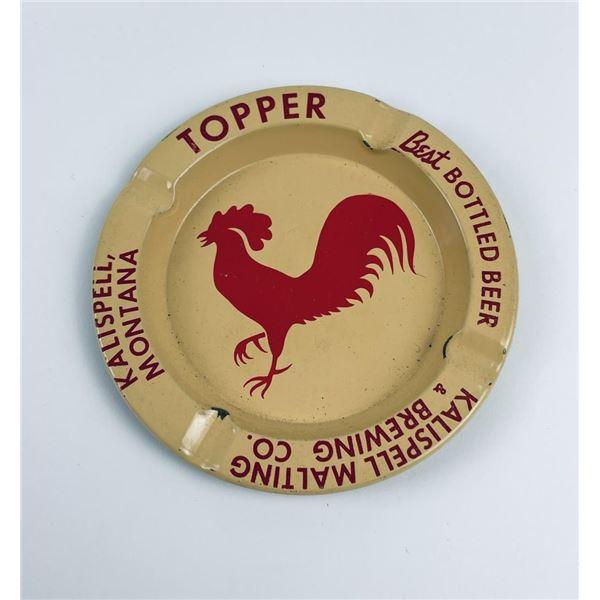Gus Topper Kalispell Montana Beer Ashtray