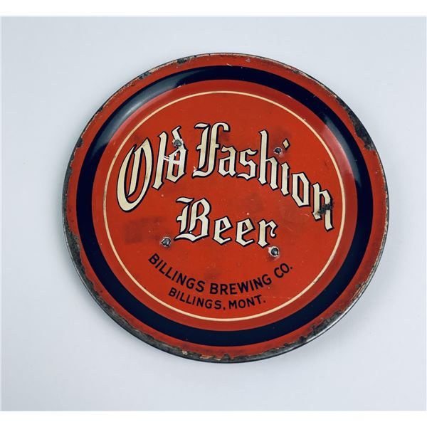 Old Fashioned Beer Billings Montana Coaster