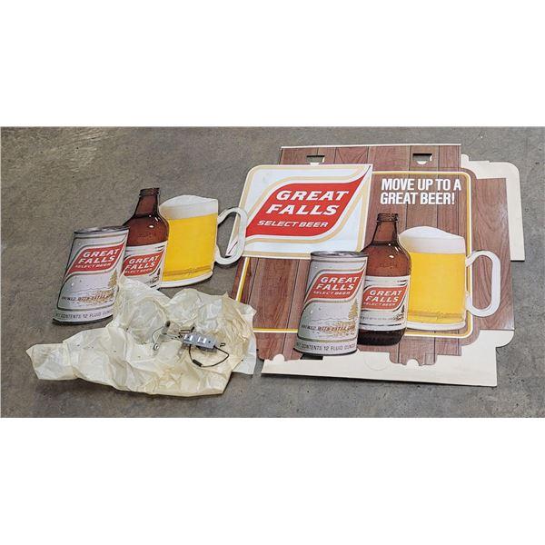 Great Falls Select Montana Beer Sign