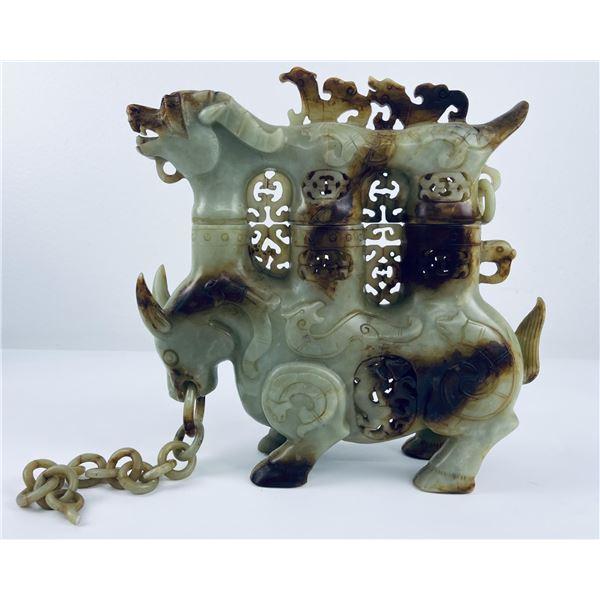 Republican Period Chinese Soapstone Urn