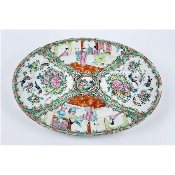 Antique Chinese Famille Rose Tray