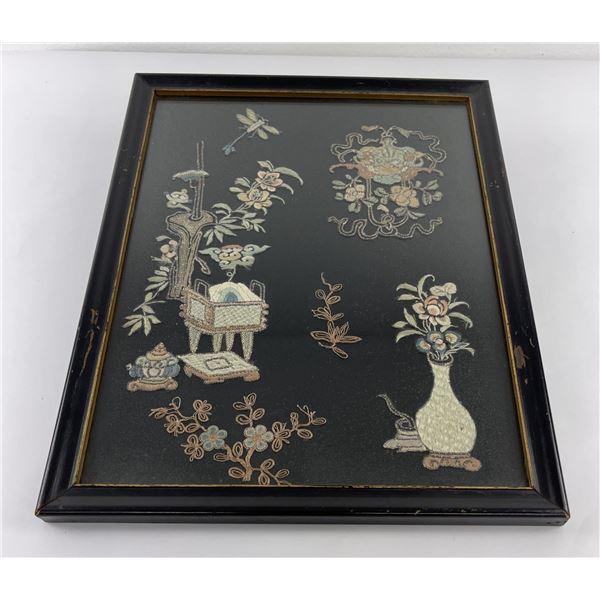 Antique Chinese Embroidery on Silk