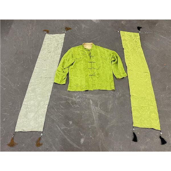 Vintage Chinese Silk Jacket and Shawls