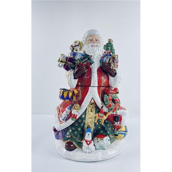 Radko Santa Claus Kris Kringle Cookie Jar