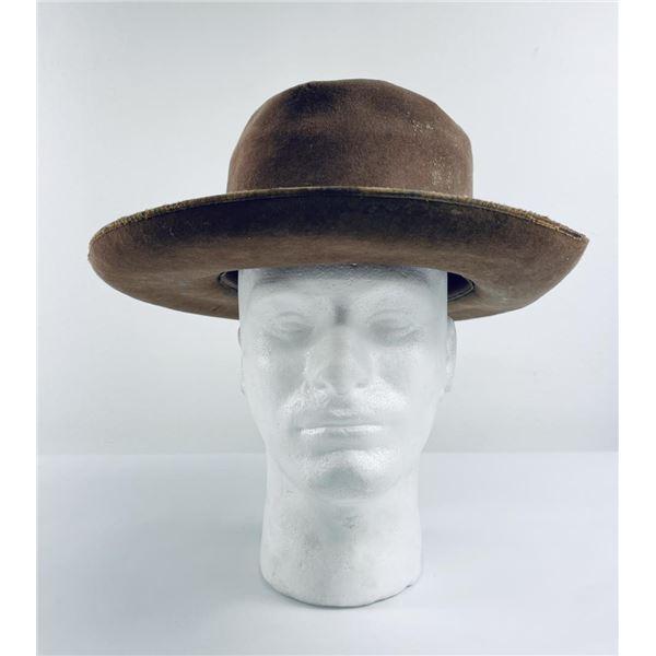 Antique Montana Stetson Beaver Cowboy Hat