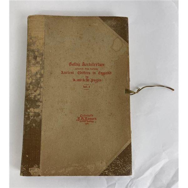 Gothic Architecture England Pugin Vol I 1914