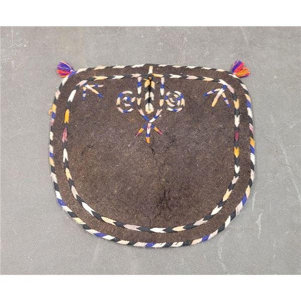 Turkmen Uzbek Felt Horse or Camel Saddle Pad
