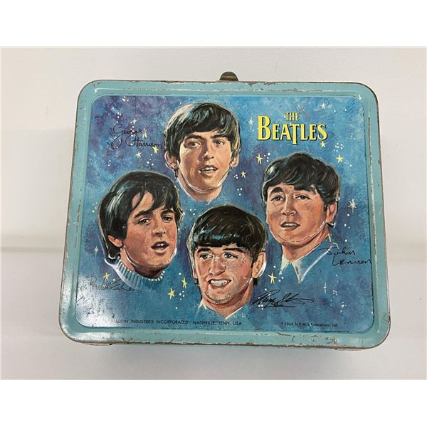 1965 Aladdin Industries Lunchbox The Beatles