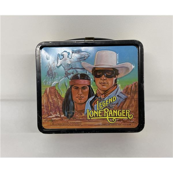 The Legend of the Lone Ranger Aladdin Lunchbox