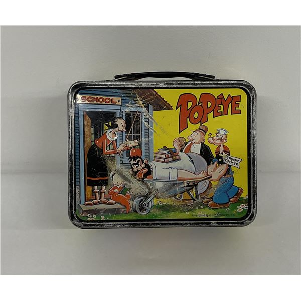 1964 Popeye Lunchbox King Features