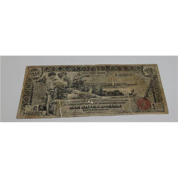 $1 1896 Silver Certificate