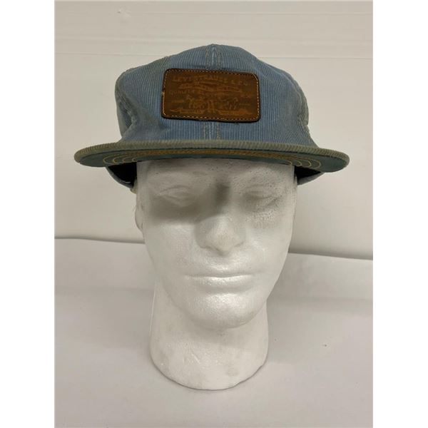 Vintage Levis Levi Strauss Corduroy Patch Hat