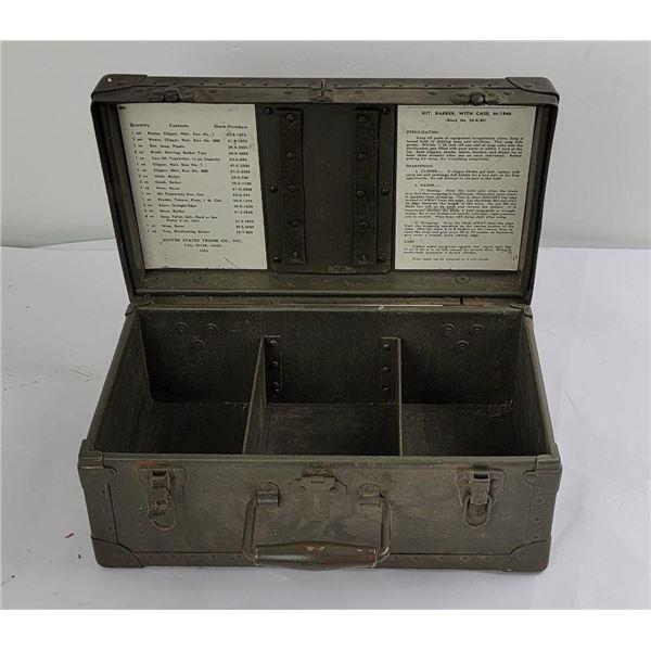 WW2 M1944 Barber Shaving Kit Box